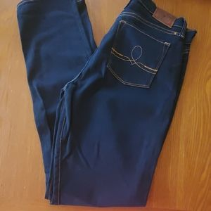 Womens lucky brand Jean's Sofia skinny sz 14/32